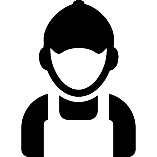 Worker Silhouette Free Vector Icons Designed
