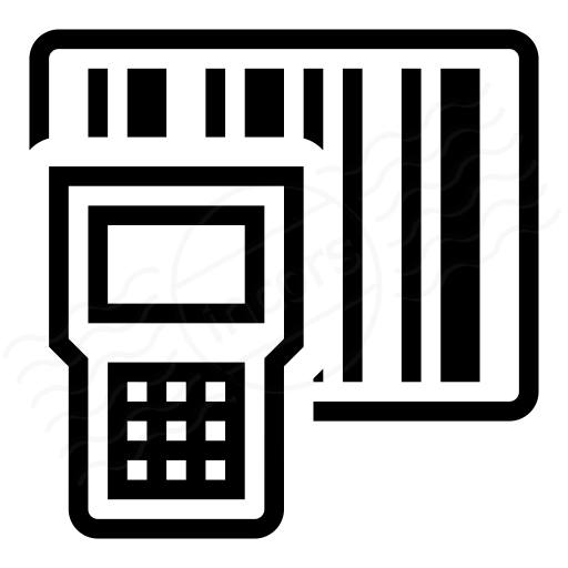 Iconexperience I Collection Portable Barcode Scanner Icon