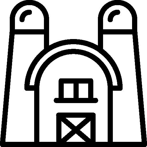Barn Icon Farming Set Smashicons