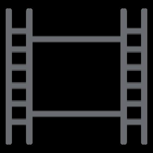 Film Tape Stroke Icon