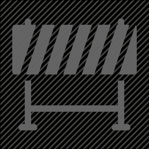 Barricade, Barrier, Construction Icon
