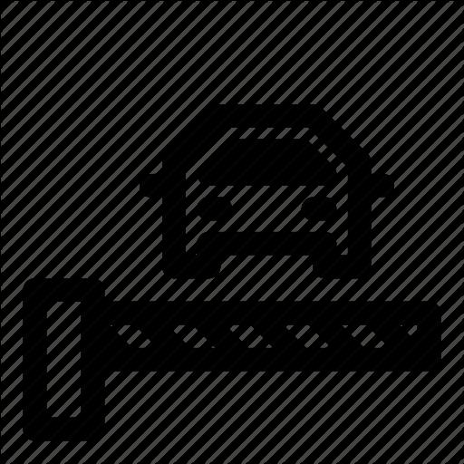 Access, Barrier, Car, Gate, Parking, Transport, Verification Icon