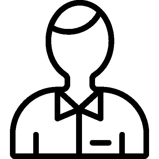 Bartender Outline Symbol Icons Free Download