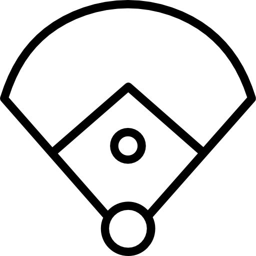 Baseball Field, Sports And Competition, Bat, Baseball, Sports