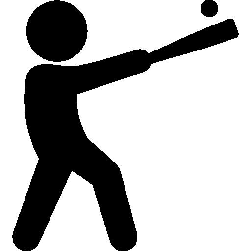 Battering, Ball, People, Sportive, Baseball, Player, Sports
