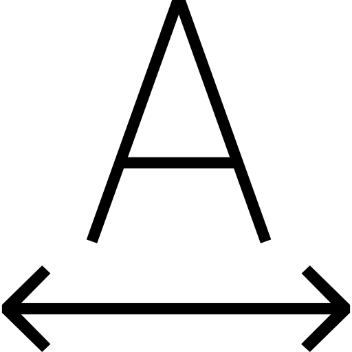 Signs, Interface, Font, Baseline Shift, Option, Style, Writing