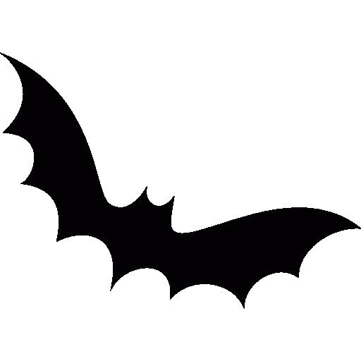 Halloween Bat Shape Icons Free Download