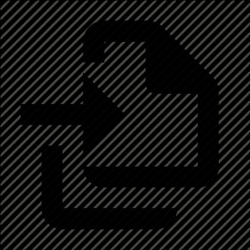 Batch, Documents, Import Icon