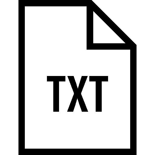 S Txt Icon Ios Iconset