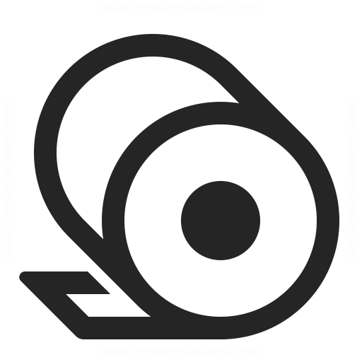 Toilet Paper Icon Iconexperience