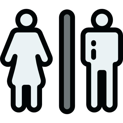 Sign Bathroom Funny Restrooms Signs With Engraved Text Graphics
