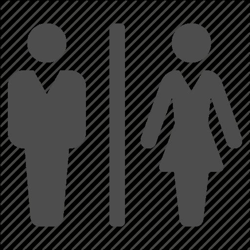 Airport, Bathroom, Man, Restroom, Toilet, Wc, Woman Icon