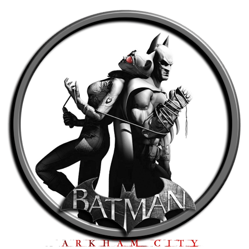 City Icon Arkham Batman