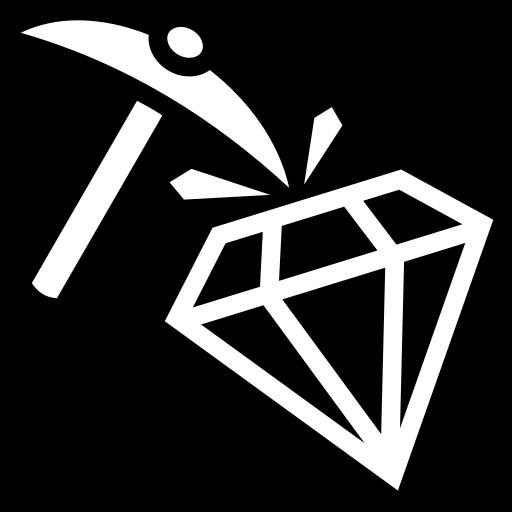 Diamond Hard Icon Game Icons Net
