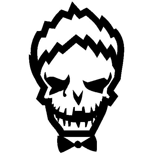 Joker Black And White Logo Png Images