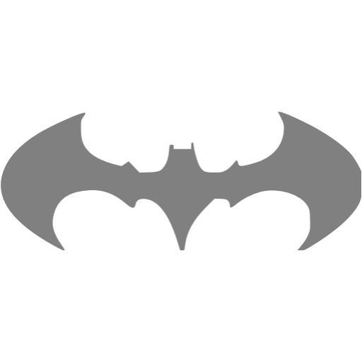 Gray Batman Icon