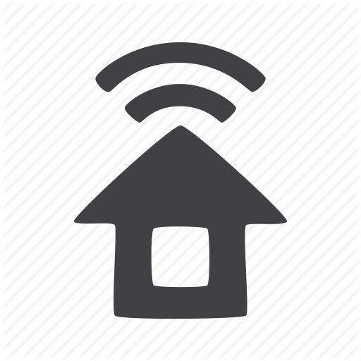 Connected, Home, House Icon