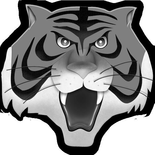 Grey Tiger Icon