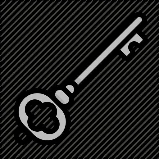 Bandits, Key, Open, Pirate, Safe, Treasure Icon