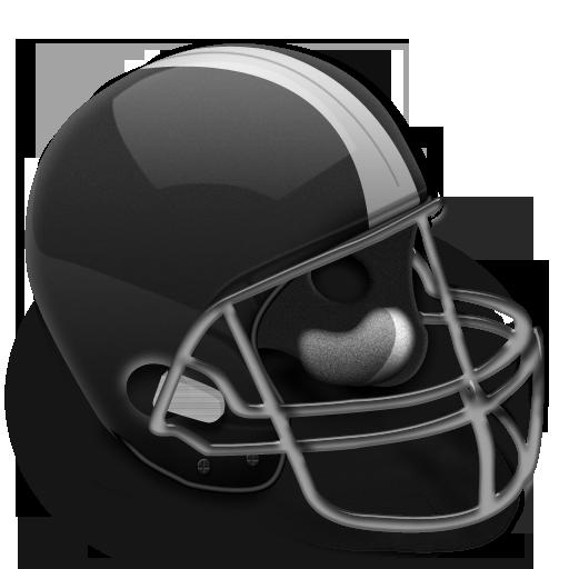 Football Helmet Grey Icon