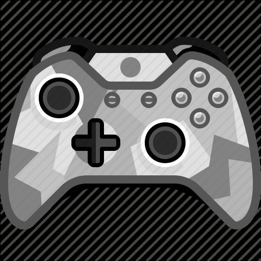 Camo, Console, Controller, Gamer, Play, Xbox, Yumminky Icon