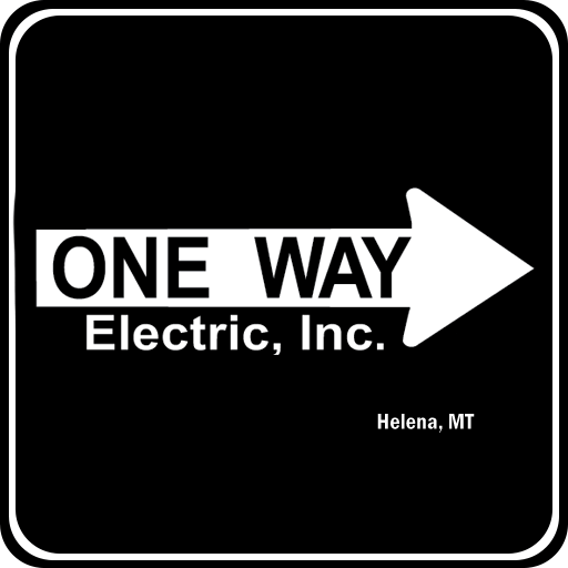 Cropped One Way Icon One Way Electric