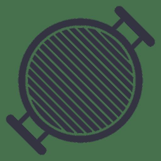 Barbecue Stove Flat Icon