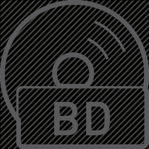 Basic, Bd, Disc, Icon