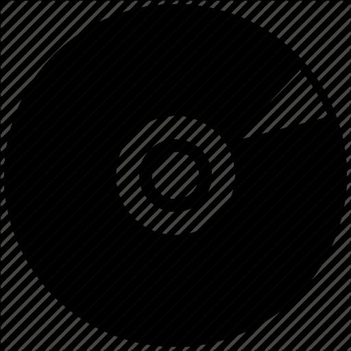 Bd, Cd, Disc, Dvd Icon