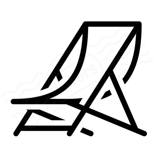 Iconexperience I Collection Deck Chair Icon