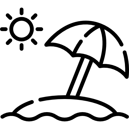 Sun Umbrella Free Vector Icons Designed
