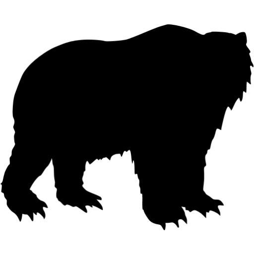 Black Bear Icon