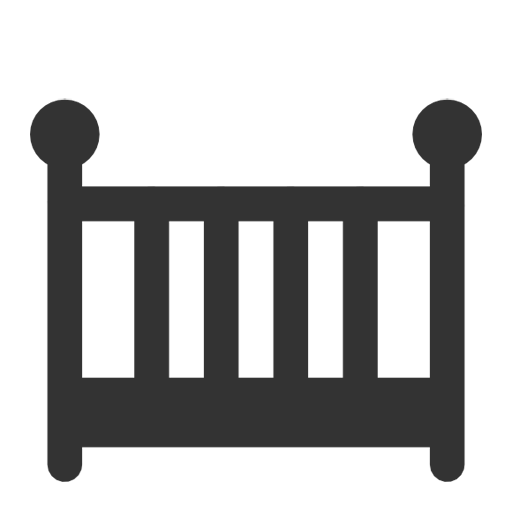 Baby Bed Icon Download Free Icons