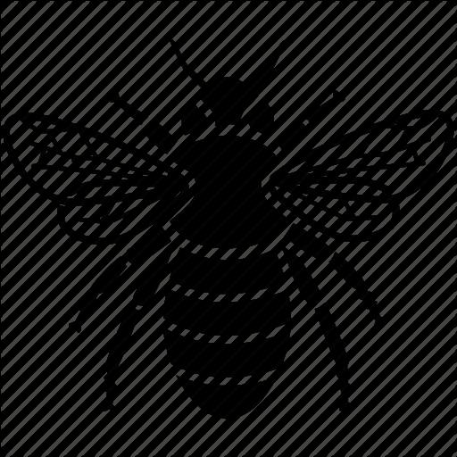 Bee, Bumble, Bumblebee, Buzz, Hive, Honey, Pollen Icon