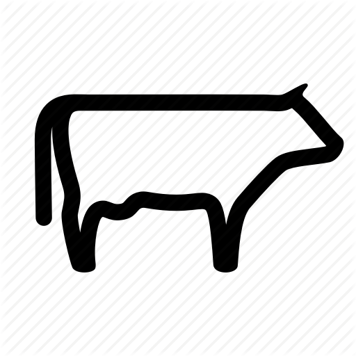 Beef, Bovine, Cow, Farm, Livestock, Meat, Veal Icon