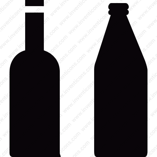 Download Bottles,beer,wine,interface Icon Inventicons