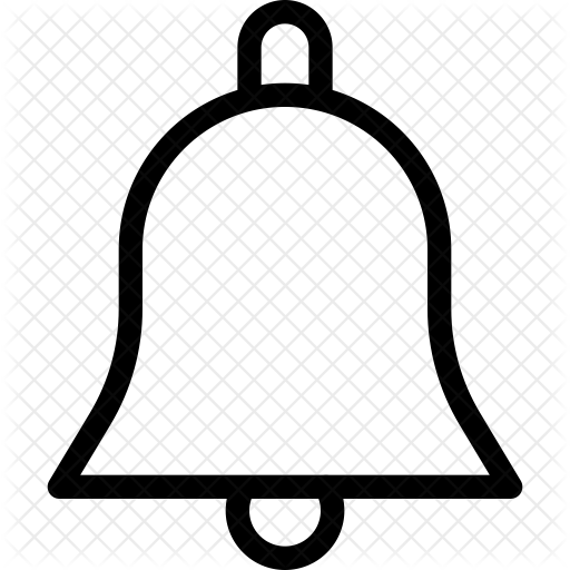 White Bell Icon Transparent Png Clipart Free Download