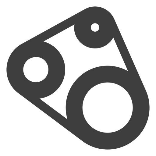 Motorcycle Timing Belt Icon