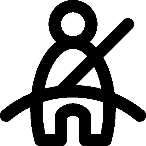 Seat Belt Icon Car Parts Smashicons