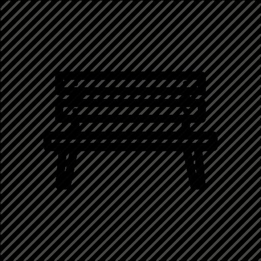 Bench, Chair, Garden, Outdoor, Park, Parking, Sit Icon