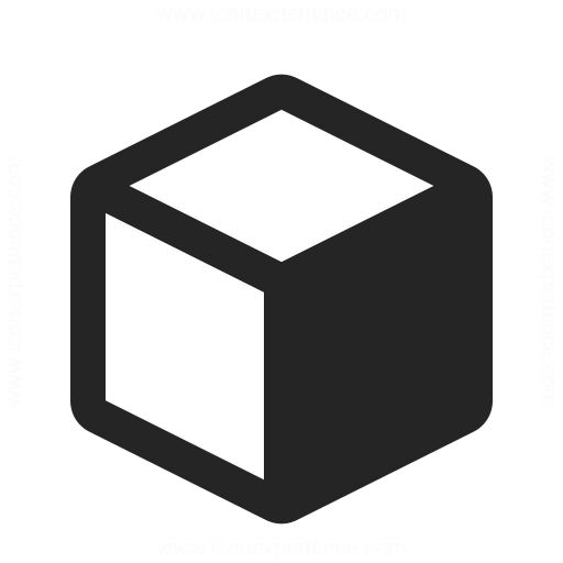 Object Cube Icon Iconexperience