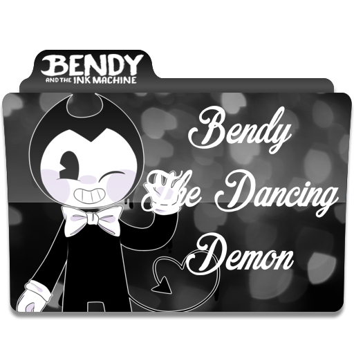 Bendy The Dancing Demon's Folder Icon For Windows
