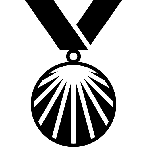 Medal Variant With Rays Icons Free Download