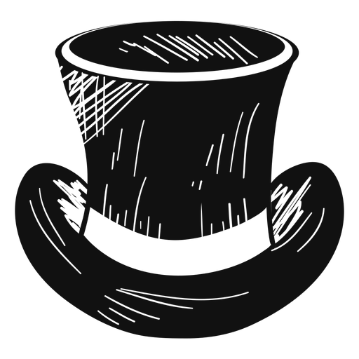 Top Hat Sketch Icon
