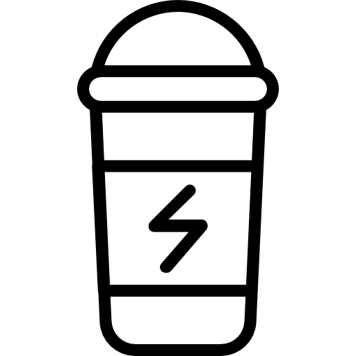 Beverage Icon Fitness Set Smashicons