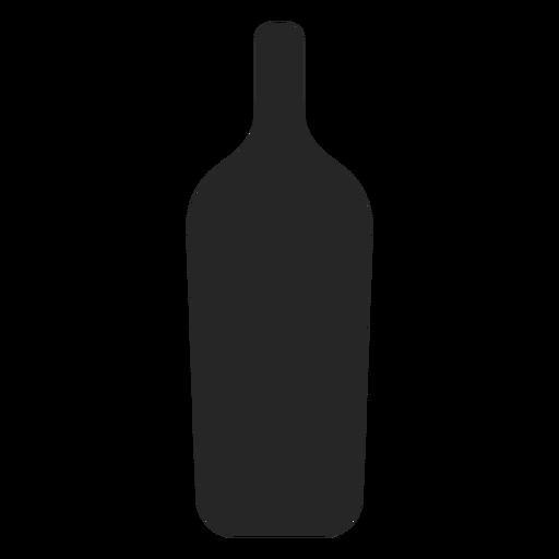 Alcoholic Beverage Bottle Flat Icon
