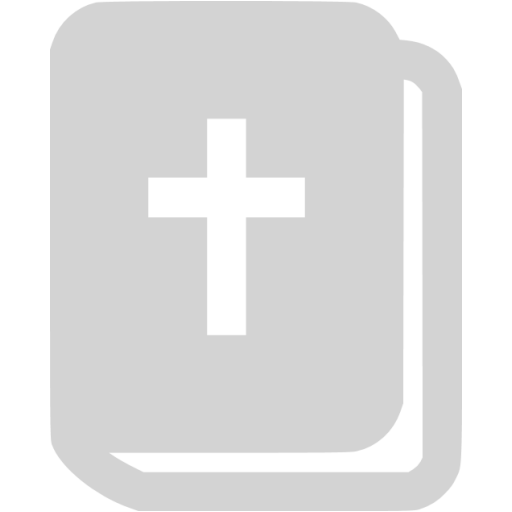 Light Gray Holy Bible Icon