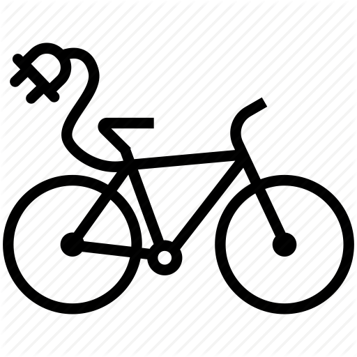 Bicycle, Biking, Cycling Mountain Bike, Electric Bike, Sport Icon