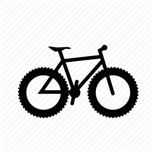 Bicycle, Bike, Fat, Fatbike, Mountain, Mtb, Muntainbike Icon
