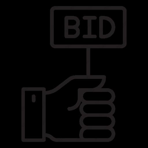Download Bid Icon Inventicons